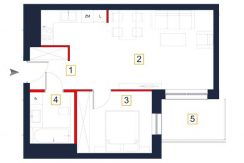 nowe mieszkania rzeszów - rzut mieszkania a10