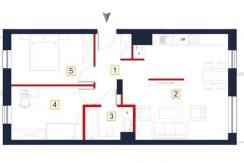 nowe mieszkania rzeszów - rzut mieszkania a11