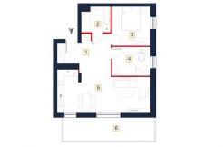 deweloperskie mieszkania rzeszów - rzut mieszkania a115