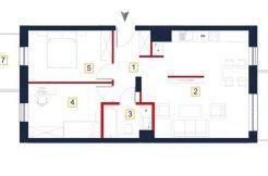 deweloperskie mieszkania rzeszów - karta mieszkania a18