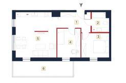 deweloperskie mieszkania rzeszów - rzut mieszkania a27