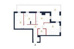 sprzedaż mieszkań rzeszów - rzut mieszkania a29