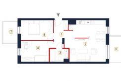 sprzedaż mieszkań rzeszów - rzut mieszkania a32