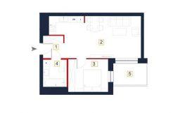 sprzedaż mieszkań rzeszów - rzut mieszkania a38