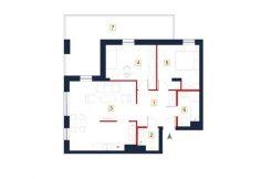 sprzedaż mieszkań rzeszów - rzut mieszkania a42