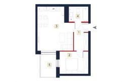 sprzedaż mieszkań rzeszów - rzut mieszkania a47