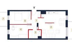 sprzedaż mieszkań rzeszów - rzut mieszkania a53