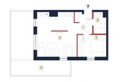 sprzedaż mieszkań rzeszów - rzut mieszkania a55