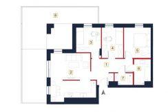 sprzedaż mieszkań rzeszów - rzut mieszkania a56