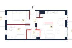 sprzedaż mieszkań rzeszów - rzut mieszkania a67
