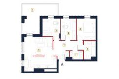 sprzedaż mieszkań rzeszów - rzut mieszkania a70