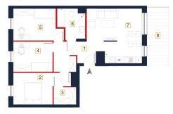 mieszkania na sprzedaż rzeszów - karta mieszkania a74