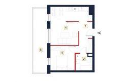 sprzedaż mieszkań rzeszów - rzut mieszkania a86