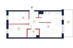 sprzedaż mieszkań rzeszów - rzut mieszkania a94