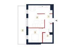 sprzedaż mieszkań rzeszów - rzut mieszkania a98