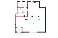 sprzedaż mieszkań rzeszów - rzut mieszkania b2-m