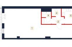 deweloperskie mieszkania rzeszów - rzut mieszkania b3-m