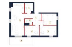 mieszkania rzeszów - rzut mieszkania b94-m